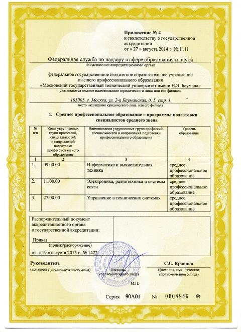 Государственная аккредитация